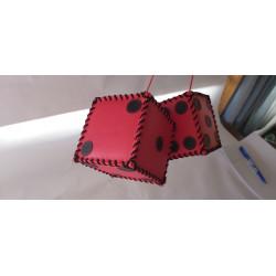 kostky červeno černé