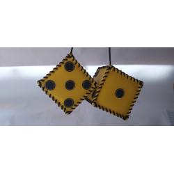 kostky žluto černé