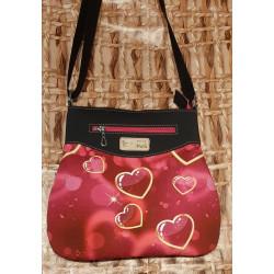 Malá kabelka,  červená se...